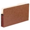 "Pendaflex Drop-Front Expanding Pocket - Legal - 8 1/2"" x 14"" Sheet Size - 3 1/2"" Expansion - 2/5 Tab Cut - Red Fiber, Manila - Red - 1 Each"