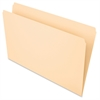 "Essentials File Folder - Legal - 8 1/2"" x 14"" Sheet Size - 3/4"" Expansion - 11 pt. Folder Thickness - Manila - Manila - 100 / Box"