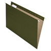 "Pendaflex Earthwise Hanging Folders - Legal - 8 1/2"" x 14"" Sheet Size - 1/2"" Expansion - 1/5 Tab Cut - Green - Recycled - 25 / Box"