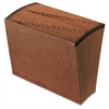 """Open-Top Daily Expanding File - Letter - 8 1/2"""" x 11"""" Sheet Size - 31 Pocket(s) - Red Fiber - Redrope - Recycled - 1 Each"""