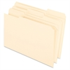 "Pendaflex Reinforced 1/3-cut Tab Manila Folder - Legal - 8 1/2"" x 14"" Sheet Size - 3/4"" Expansion - 1/3 Tab Cut - Assorted Position Tab Location - 11 pt. Folder Thickness - Manila - Manila - 100 / Box"