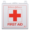 """Johnson&Johnson Industrial 227 Piece First Aid Kit - 227 x Piece(s) For 50 x Individual(s) - 2.4"""" Height x 10.5"""" Width x 10.5"""" Depth - Metal Case - 1 Each"""