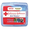"Safe Travels First Aid Kit - 70 x Piece(s) - 5.5"" Height x 6.3"" Width x 1.6"" Depth - Plastic Case - 1 Each"