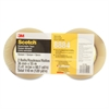 "Scotch Stretchable Tape - 1.41"" Width x 60 yd Length - 3"" Core - Polyethylene - Synthetic Rubber Backing - Flexible, Stretchable - Clear"
