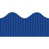 "Pacon Bordette Scalloped Decorative Border - Rectangle with Scalloped Trim - Pin-up - Fadeless - 2.25"" Width x 600"" Length - Royal Blue - Paper - 1 / Roll"