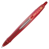 Pilot G6 Gel Pen - Fine Point Type - 0.7 mm Point Size - Refillable - Red Gel-based Ink - Red Rubber Barrel - 1 Each