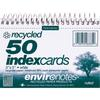 "Printable Index Card - 5"" x 3.50"" - Recycled - 1 Each - White"