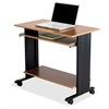 "Safco Muv 35"" Fixed Height Desk - Rectangle Top - Assembly Required - Steel, Wood"