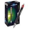 Uni-Ball Jetstream RT Bold Tip Ballpoint Pens - Bold Point Type - 1 mm Point Size - Refillable - Red Gel-based Ink - 1 Each