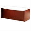 "Corsica Reception Desk Base - 72"" x 36"" x 29.5"" - Beveled Edge - Material: Veneer, Wood - Finish: Cherry, Sierra Cherry"