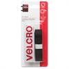 "VELCRO® Brand VELCRO Brand General Purpose Sticky Back Tape - 0.75"" Width x 1.50 ft Length - Self-adhesive - 1 / Pack - Black"