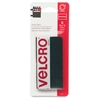 VELCRO® Brand VELCRO Sticky Back Hook-and-loop Closures - 6 / Pack - Black