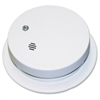 Kidde Smoke Alarm - Ionize - Fire, Gas Detection - Wall Mount, Ceiling Mount, Surface Mount - White
