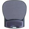 "Compucessory Comp Gel Mouse Pad with Wrist Rest - 8.7"" x 10.2"" x 1.2"" Dimension - Charcoal - Gel, Lycra"