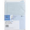 "Sparco Orchid Legal Ruled Pad - 50 Sheets - Printed - Glue - 16 lb Basis Weight - 8.50"" x 11.75"" - Orchid Paper"