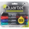 Quartet® EnduraGlide® Dry-Erase Markers - Fine Point Type - Red, Green, Black, Blue - 4 / Set