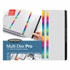 "Wilson Jones® MultiDex® Pro Dividers, 1-31-Tab Index, Multicolor Tabs - 31 Printed Tab(s) - Digit - 1-31 - 31 Tab(s)/Set - Letter - 8.50"" Width x 11"" Length - White Paper Divider - Multicolor"