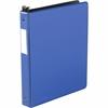 "Wilson Jones® 1"" Hanging DublLock® Round Ring Binder - 1"" Binder Capacity - Letter - 8 1/2"" x 11"" Sheet Size - 200 Sheet Capacity - Round Ring Fastener - Vinyl - Dark Blue - 1 Each"