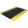 "Genuine Joe Safe Step Anti-Fatigue Mat - Warehouse, Factory - 36"" Length x 24"" Width - Black"