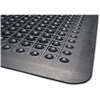 "Genuine Joe Flex Step Anti-Fatigue Mat - Warehouse - 36"" Length x 24"" Width - Rubber - Black"