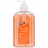 Genuine Joe Hand Soap 8.5 oz - 8.5 fl oz (251.4 mL) - Pump Bottle Dispenser - Hand - Orange - Moisturizing, pH Balanced - 1 Each