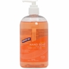 Genuine Joe Hand Soap 16 oz - 16 fl oz (473.2 mL) - Pump Bottle Dispenser - Hand - Orange - Moisturizing, pH Balanced - 1 Each