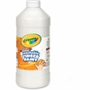 Crayola Washable Finger Paint Marker - 2 lb - 1 Each - White