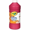 Crayola Washable Finger Paint Marker - 2 lb - 1 Each - Red