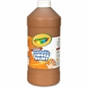 Crayola Washable Finger Paint Marker - 2 lb - 1 Each - Brown