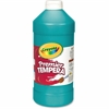 Crayola 32 oz. Premier Tempera Paint - 1 quart - 1 Each - Turquoise Blue