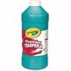 Crayola 32 oz. Premier Tempera Paint - 1 quart - 1 Each - Turquoise Blue
