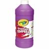 Crayola 32 oz. Premier Tempera Paint - 1 quart - 1 Each - Violet