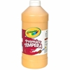 Crayola 32 oz. Premier Tempera Paint - 1 quart - 1 Each - Peach