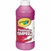 Crayola 16 oz. Premier Tempera Paint - 16 fl oz - 1 Each - Magenta