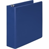 "Wilson Jones® 368 Basic Round Ring Binder - 3"" Binder Capacity - 550 Sheet Capacity - 3 x Round Ring Fastener(s) - 2 Internal Pocket(s) - Blue - 1 Each"