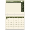 "At-A-Glance Monthly Calendar - Julian - Monthly - 1 Year - January 2017 till December 2017 - 1 Month Double Page Layout - 11"" x 8.50"" - Wire Bound - Wall Mountable, Desk Pad - Hole-punched, Eco-friend"