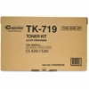 Kyocera TK-719 Original Toner Cartridge - Black - Laser - High Yield - 34000 Page - 1 / Each