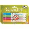 Quartet Low Odor Dry-Erase Markers - Bullet Point Style - Vivid Magenta, Vivid Cyan, Vivid Orange, Vivid Lime Green - 4 / Pack