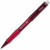 Pentel Twist-Erase Express Mechanical Pencil - #2, HB Lead Degree (Hardness) - 0.7 mm Lead Diameter - Refillable - Red Barrel - 1 Each