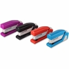 "PaperPro inJOY 20 Compact Stapler - 20 Sheets Capacity - 105 Staple Capacity - Half Strip - 1/4"" Staple Size - Assorted"