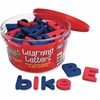 Learning Resources Magnetic Learning Letters - Theme/Subject: Learning - Skill Learning: Alphabet, Letter Sound, Word Building, Sorting, Reading, Phonic, Spelling, Consonant - 104 Pieces