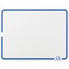 "Quartet® Education Lap Board - 9"" (0.8 ft) Width x 12"" (1 ft) Height - Melamine Surface - 1 / Each"