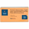 """Business Source Adhesive Note Pad - 3"""" x 3"""" - Square - Neon - Removable, Repositionable, Solvent-free Adhesive - 12 / Pack"""