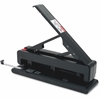 "Business Source Effortless 2-3 Hole Punch - 3 Punch Head(s) - 40 Sheet Capacity - 9/32"" Punch Size - Black"