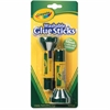 Crayola Washable Glue Sticks - 0.290 oz - 2 / Pack - Blue