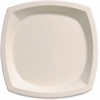 "Solo Bare Sugar Cane Plates - 10"" Diameter Plate - Off White - 125 Piece(s) / Pack"