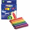 Dixon Prang Color Wand Classic Color Crayon - Red, Orange, Yellow, Green, Blue, Purple - 6 / Set