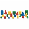 Learning Resources Mini GeoSolids Shapes Set - Theme/Subject: Fun - Skill Learning: Shape, Color, Geometry - 32 Pieces