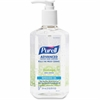 Purell Hand Sanitizer Refreshing Gel Pump - 12 fl oz (354.9 mL) - Pump Bottle Dispenser - Kill Germs - Hand - Clear - 1 Each