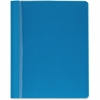 "Report Cover - Letter - 8 1/2"" x 11"" Sheet Size - 100 Sheet Capacity - 3 x Prong Fastener(s) - Light Blue - 25 / Box"